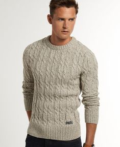 Knitting Sweter For Men Guys 26 Ideas For 2019 Mens Cable Knit Sweater, Men Sweater, Burberry Men, Gucci Men, Mens Jumpers, Easy Knitting, Well Dressed Men, Pulls, Mens Fashion