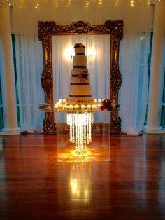 majestic glass cake stand