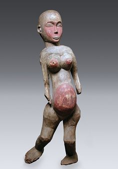 Female Figure (mabinda), Sukuma Wood, 104.1cm
