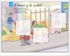 """Unidad 3 de Educación Infantil de 5 años: """"El barrio y la ciudad"""" Family Guy, Baby Shower, Activities, Learning, Shower Ideas, Boys, Teaching Resources, The Neighborhood, Street"""