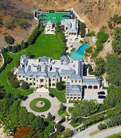 Mark Wahlberg's incredible 30,000 square foot $25,000,000 mansion in Beverly Hills
