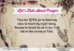 Day 1- Prayer Challenge Devotions - How I pray when I'm distracted?