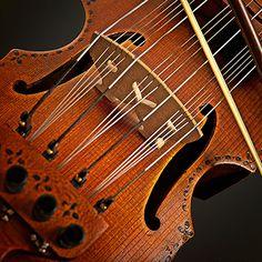 Nyckelharpa - wonderful Norwegian string instrument