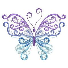29 Ideas tattoo butterfly mandala embroidery designs for 2019 - INK PAINTING Butterfly Mandala, Butterfly Tattoo Designs, Butterfly Crafts, Butterfly Design, Purple Butterfly Tattoo, Machine Embroidery Designs, Embroidery Patterns, Butterfly Pictures, Butterfly Wallpaper