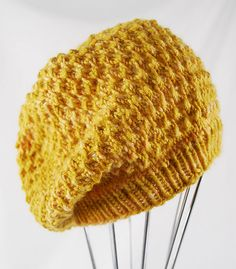 Ravelry: slouched Tuva hat free pattern