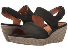 c9ac4d6eb8b CLARKS CLARKS - CLARENE ALLURE (BLACK NUBUCK) WOMEN S SANDALS.  clarks   shoes