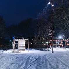 We lit up a park in Sweden that only gets three hours of daylight during winter.  Here Simone Bramante describes the meaning of #lightislife through the children who are now able to continue playing when the sun has set, in Uppsala. #lightupthedark
