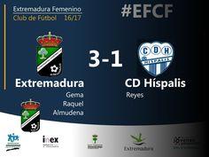 2da División Nacional | Jornada 14.  Extremadura 3-1 Híspalis  El Extremadura despide el 2016 con una gran victoria ante un Híspalis que cuajó un gran encuentro, sobre todo en la primera parte. Enhorabuena a todas por tantas y tantas alegrías y por dar lo mejor en cada acción, en cada partido. Siempre Extremadura!!  #EFCF #futfem