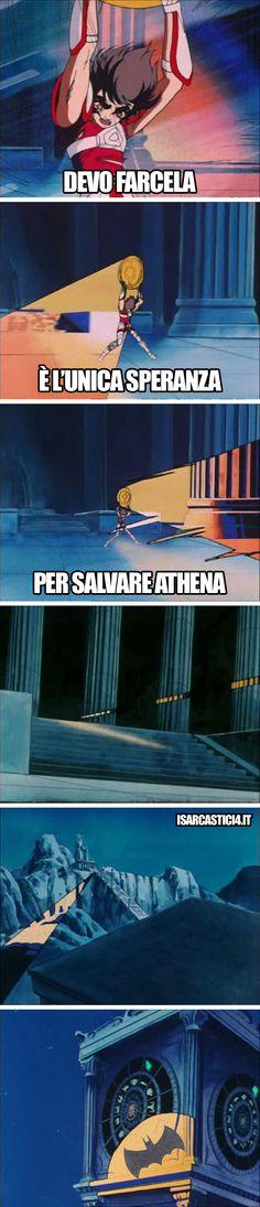 Cavalieri dello Zodiaco meme ita - Salvare Athena