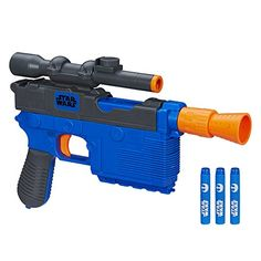 Star Wars Episode VII Nerf Han Solo Blaster >>> You can get additional details at the image link.Note:It is affiliate link to Amazon.