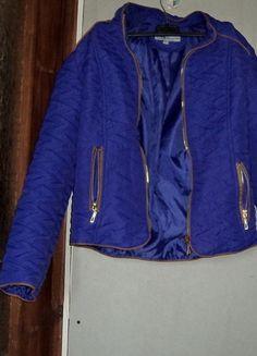 Kup mój przedmiot na #vintedpl http://www.vinted.pl/damska-odziez/kurtki/10548589-fioletowa-kurtka-pikowana