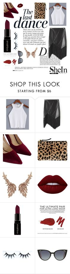 """""""shein"""" by nylover-998 ❤ liked on Polyvore featuring Anja, WithChic, Clare V., Sutra Jewels, Lime Crime, Smashbox, Urban Decay and Fendi"""