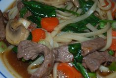 Weekly Menu that will save time and money! Check it out! Udon Noodles, Incredible Edibles, Weekly Menu, Soup, Yummy Food, Beef, Money, Chicken, Healthy