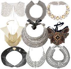 Statement Necklace & Embellished Collar