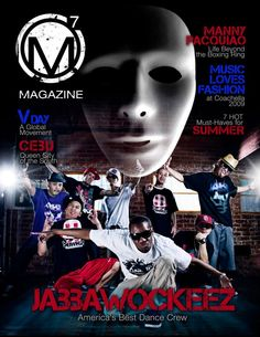 jabbawockeez america's best dance crew 1st season winner, photography, design, magazine layout by ronskigfx