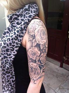 roses tattoo on shoulder - Google претрага