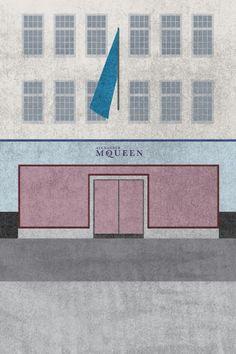 Alexander McQueen fashion house (refinery 29)