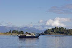 MV Glen Etive. What a way to cruise around Scotland. (The Majestic Line)