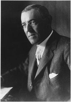 Woodrow Wilson...my favorite presidents