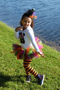 Funky Tutu witch setPerfect for Halloween by tutuglamourous, $64.95