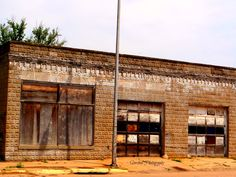 love old buildings...small towns/rural areas are the best places