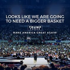Hillary's Going to Need a Bigger Basket — MASSIVE CROWD at Trump NC Rally  Jim Hoft Sep 13th, 2016