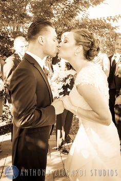 First look.  #unveil #firstlook #sepia #bride #groom #mrandmrs #happycouple #justmarried #anthonyziccardistudios #aziccardi