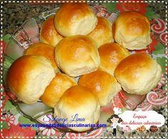 Pãozinho de leite condensado, feito na MFP - Espaço das delícias culinárias