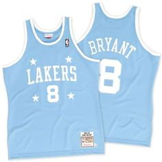 54bd3146d Kobe Bryant Los Angeles Lakers Mitchell   Ness 2004-2005  8 Authentic Jersey  - Light Blue