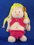 Sock Doll in Bikini Craft From www.daniellesplace.com