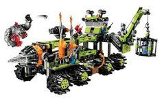 Lego Power Miners Titanium Command Rig