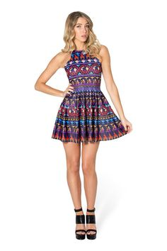 A Whole New World Reversible Skater Dress › Black Milk Clothing