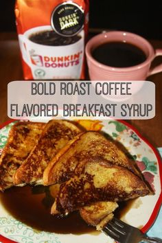 Pour this fragrant syrup over waffles or French toast for a special breakfast.  This also makes a wonderful gift for the coffee lovers you know! #BrewedfortheBold