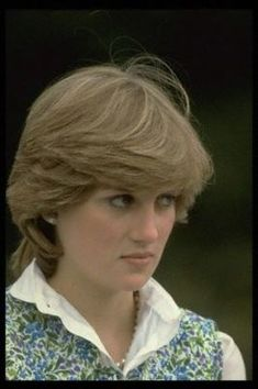 July 25, 1981: Lady Diana Spencer watches Prince Charles play polo at Tidworth.