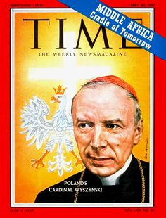 TIME Magazine Cover: Cardinal Wyszynski -- May 20, 1957