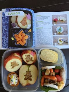 Lunch Inspiration from Happy Bento! Lunches On the Go, book by Anna Adden of Becoming A Bentoholic. Lunch To Go, Lunch Box, Bento Tutorial, Non Sandwich Lunches, Healthy School Lunches, Edible Creations, Bento Box, Recipe Of The Day, Lunch Ideas