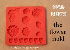 Cathie and Steve {Handmade Happy Hour}: Our New Product Line: Mod Melts for Mod Podge! DIY your own embellishments!