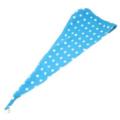 Dot Printed Microfiber Magic Hair Drying Hat Bath Spa Cap Cyan *** Continue to the product at the image link.(This is an Amazon affiliate link and I receive a commission for the sales)