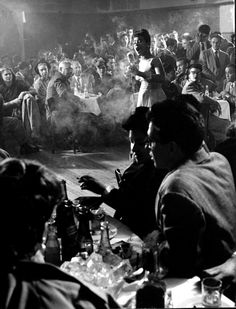 U.S. Cafe Society nightclub, NYC, 1947 //  gjon mili