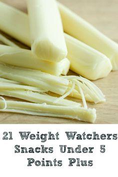 21 Weight Watchers Snacks Under 5 Points Plus