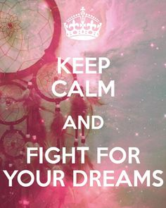 Keep calm dreams