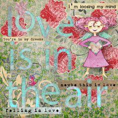 Love is in the air Digital Logbook 2.0 #2 by studio Berna