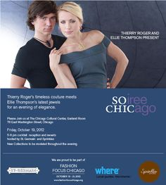So Chic   SOiree  CHICago  Thierry Roger Couture Oct. 19th 2012
