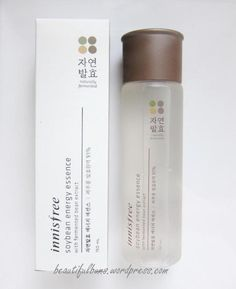 Innisfree Soybean Essence - I'm looking for a cruelty-free replacement for my Missha First Treatment Essence. Innisfree seems to still be cruelty-free, so this is a candidate. Beauty Make Up, Beauty Care, Beauty Skin, Natural Beauty Tips, Natural Skin Care, Innisfree Skincare, Natural Eyebrow Tutorial, Jeju, Face Health