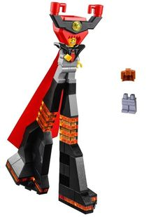NEW LEGO MOVIE LORD BUSINESS MINIFIG complete figure 70809 evil lair president #LEGO