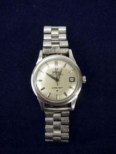 Vintage 1958 Omega Constellation Stainless Automatic Chronometer Caliber 504  #Omega