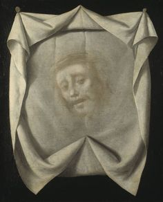 Francisco de Zurbaran - The Sudarium of St Veronica. Date between 1658 and 1661