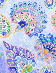 seahorse+paisley+lily+Pulitzer | Ombre Paisley by Charis Harrison | Feelin Groovy Inspiration