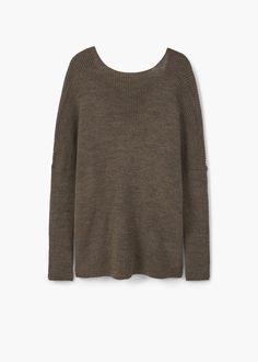 Crossover sweater | MANGO
