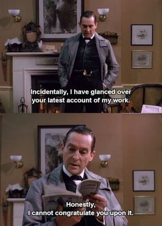 Jeremy Brett / Sherlock Holmes The Sign of Four